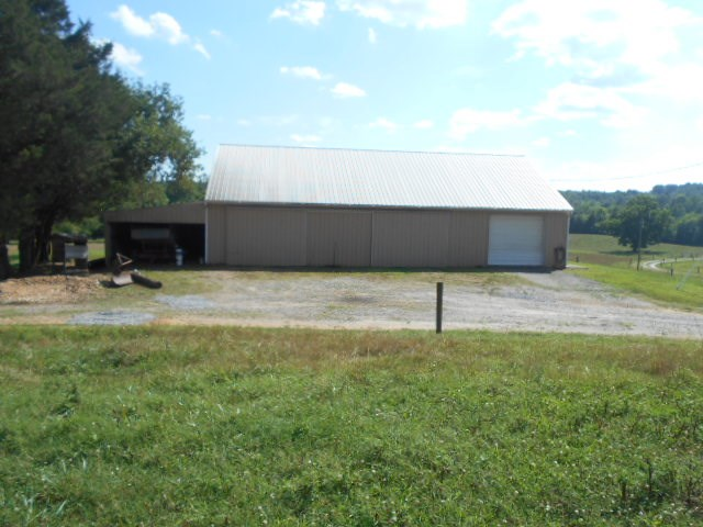 Equipment shed and shop