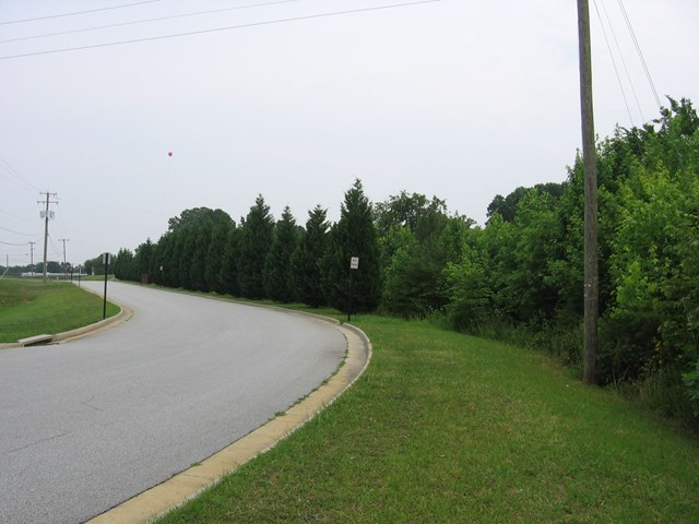 Long road frontage on two roads