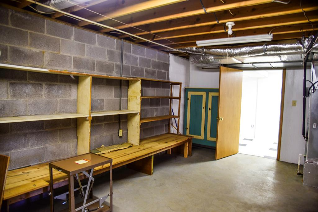 Lower Level Storage Room