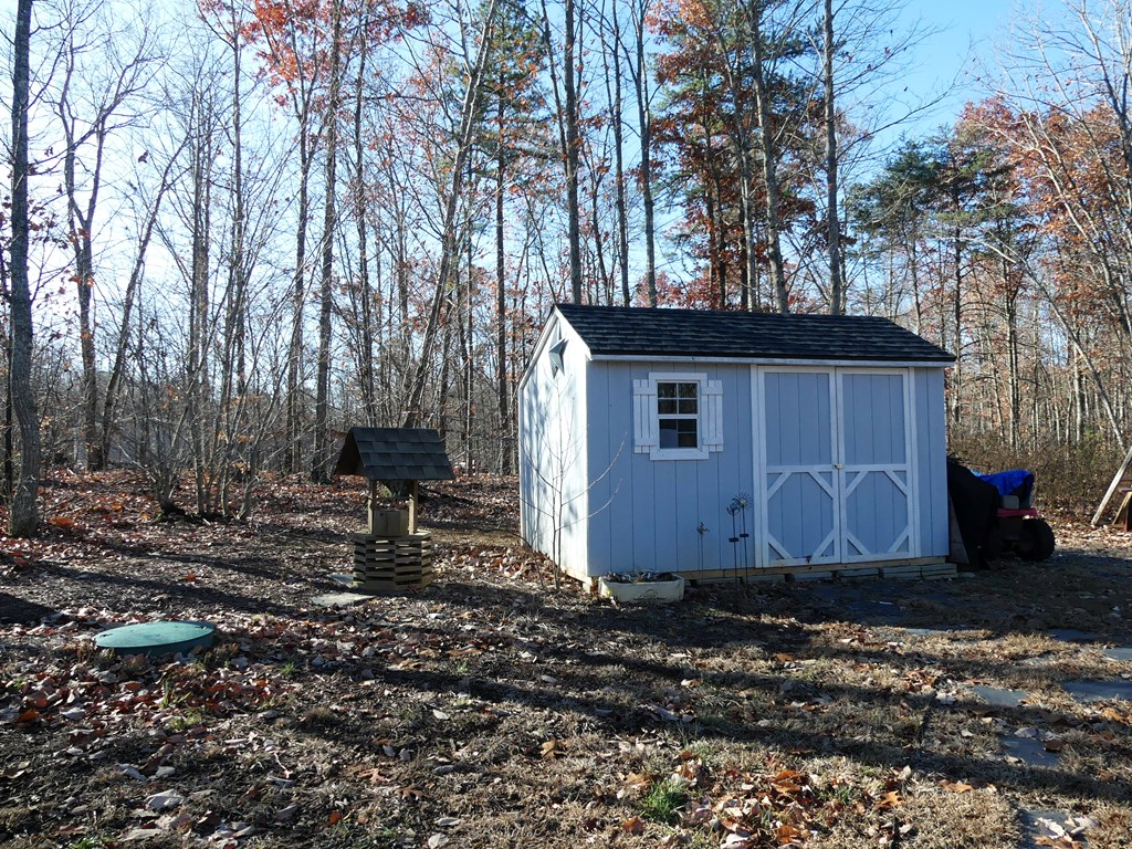 Storage Shed with electric